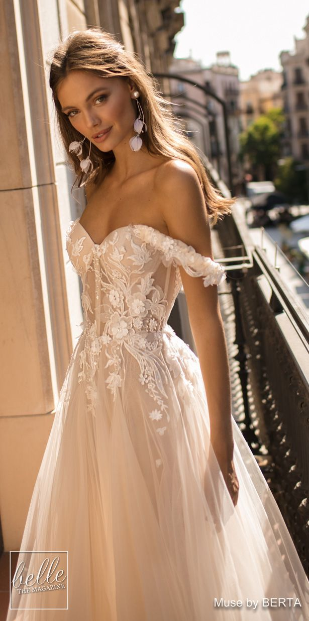 MUSE von BERTA Brautkleider 2019 – Barcelona Bridal Collection – #Barcelona #BERT …  – https://pin10.gokusan.xyz