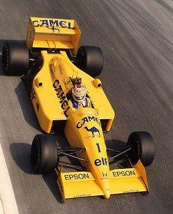 f1pictures: Nelson Piquet Lotus - Honda 1988