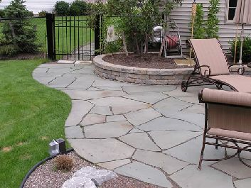 17 best ideas about inexpensive patio on pinterest for Stone patio ideas on a budget