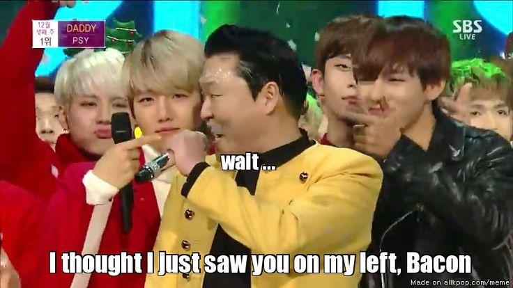 Psy winning his award like... | allkpop Meme Center