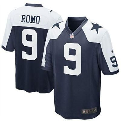 Nike NFL Youth #9 Tony Romo Dallas Cowboys Game Jersey