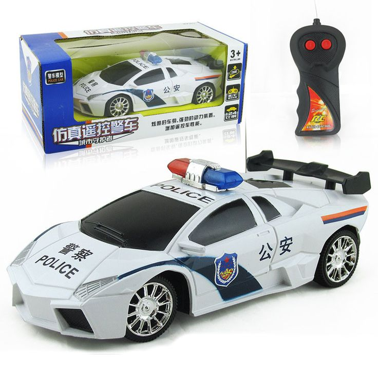 1PC Children Model Plastic Toys Remote Control Car 23 * 11 * 9.5CM Wireless Electric Two-way 1:24 Simulation Remote Control Car