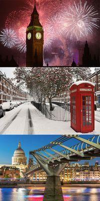 Silvester in der britischen Hauptstadt London und ein Feuerwerk am Big Ben - Angebot via Urlaubspiraten.de