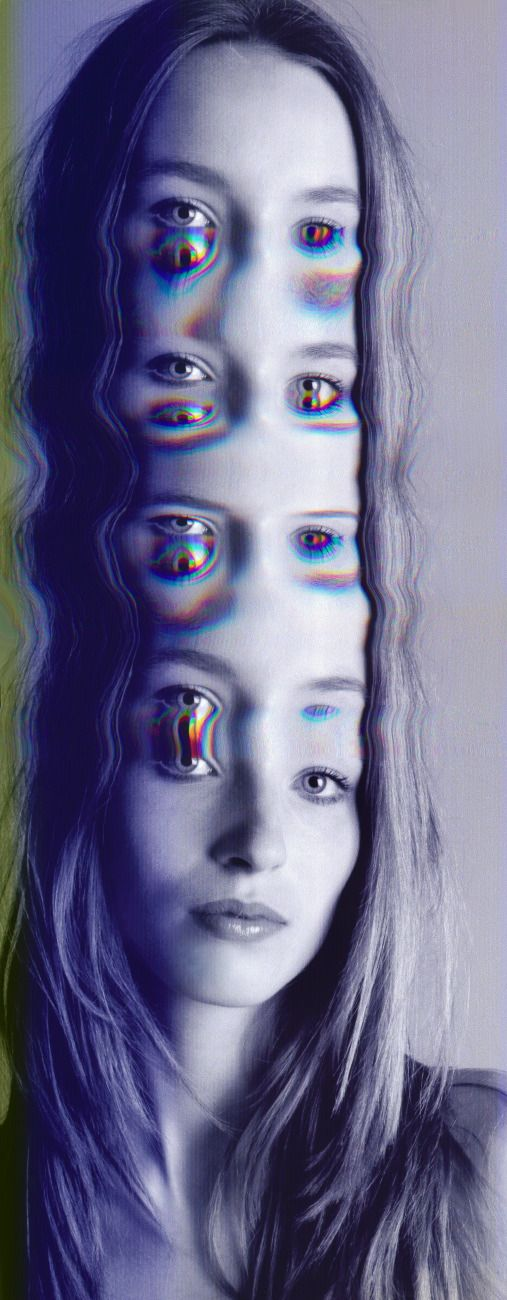 Face Melt 3 - Elena Kulikova (http://elenakulikova.com/)