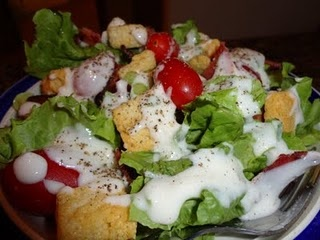BLT salad with buttermilk dressing | Never Trust a Skinny Cook ...