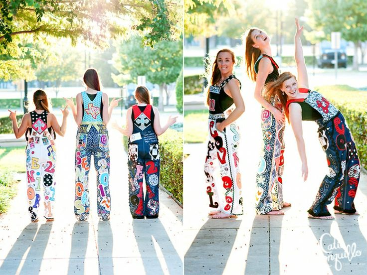 Fashion Friday: Coppell High School Senior Overalls | Dallas Senior Portrait Photographer - Catie Ronquillo Photography