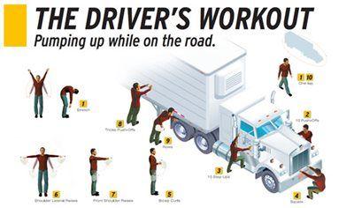 Truck Driver Workout