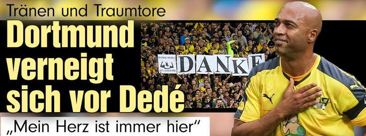 Borussia Dortmund: Der Dedé-Abschied im Live-Ticker http://www.bild.de/sport/fussball/dede/abschiedsspiel-in-dortmund-42466586.bild.html