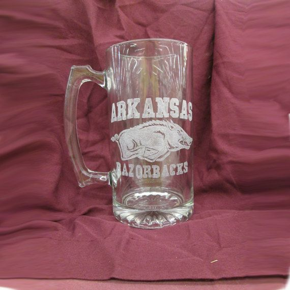Official Licensed Arkansas Razorback Engraved by WoodWorks4You, $25.00