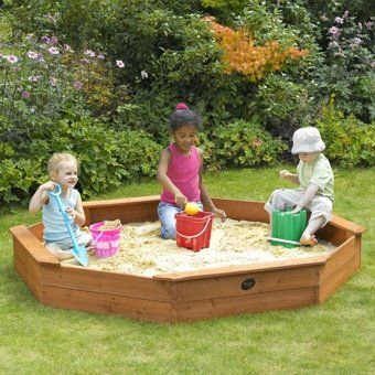 Plum Giant Wooden Sandpit Wooden Play Centres, Plastic Play Centres, Play Centre Accessories, Play Centre Spare Parts, Play Centres