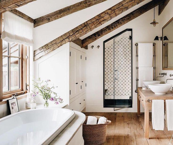 Bathroom, rustic