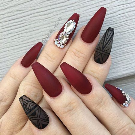 25 Best Coffin Nail Art