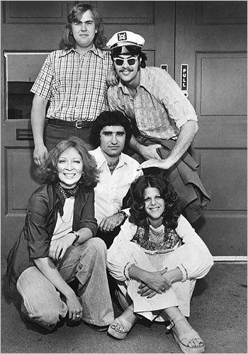 Second City Cast in the 70s.  (dan aykroyd, john candy, gilda radner, andrea Martin, eugene levy)