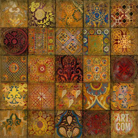 Art.fr - Giclée 'Mosaic III' par Douglas