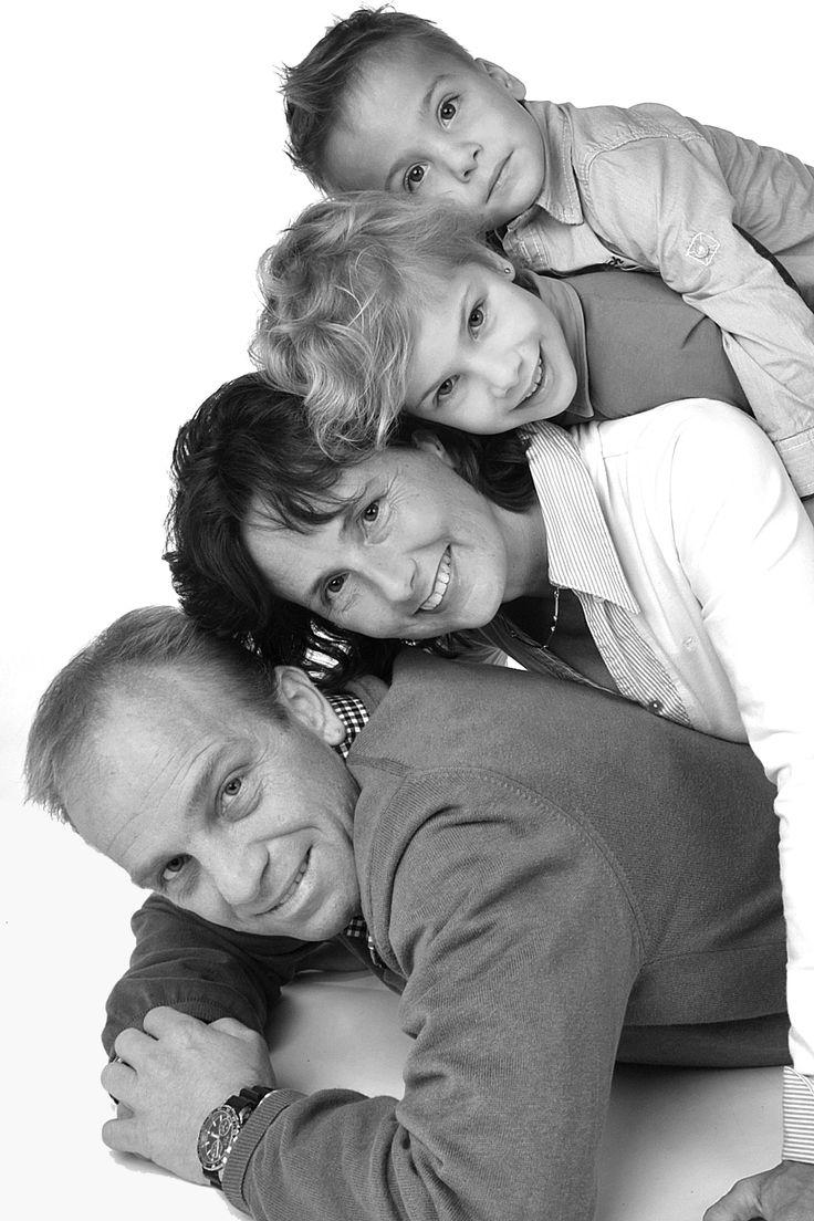 Je gezin op de foto
