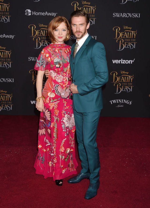 "Dan Stevens' 5-Year-Old Daughter Helped Design Belle's Iconic ""Beauty and the Beast"" Ballgown"