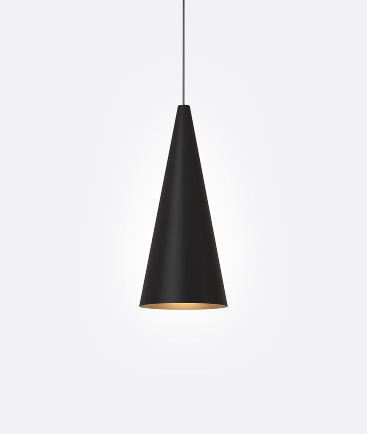 Led pendant p97l in black mp lighting