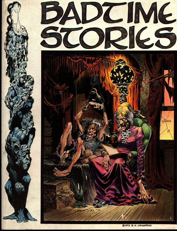 Badtime Stories Berni Wrightson Science Fiction Sexy Horror Fantasy Fanzine-4207