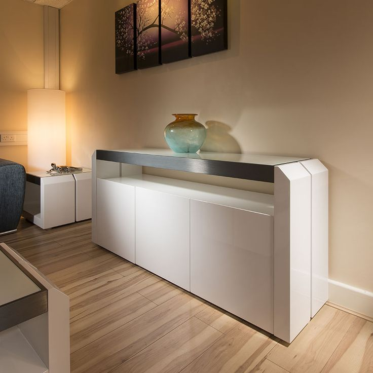 Sideboard with 3 doors giving ample storage.