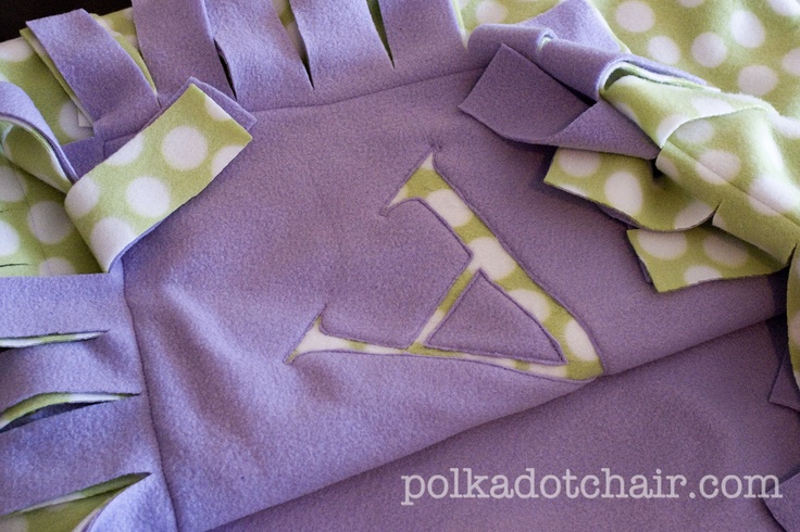 Quick & easy! Uses only 3 yds of fleece.