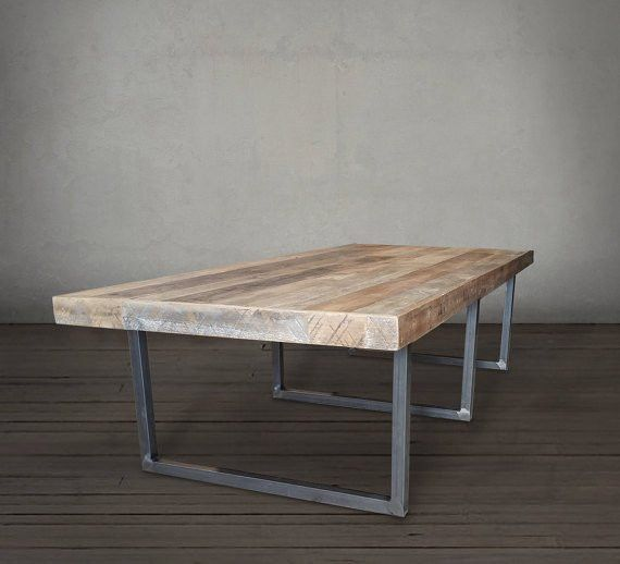 Reclaimed Wood Long Dining Table, Conference Table - Free Shipping