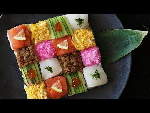 美しすぎるフォトジェニックなお寿司♡簡単#モザイク寿司の作り方|MERY [メリー]