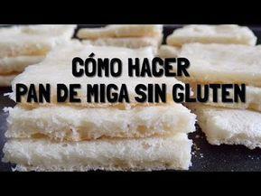 Con esta receta podrás preparar pan de miga para celíacos y disfrutar de unos exquisitos sándwiches libres de gluten. Video explicativo.