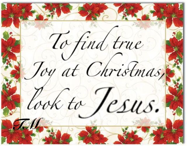 Jesus is the REAL reason for the Christmas Season Amen