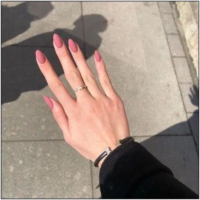 187 the most elegant and beautiful almond nails - page 35 ~ myhomeku.com