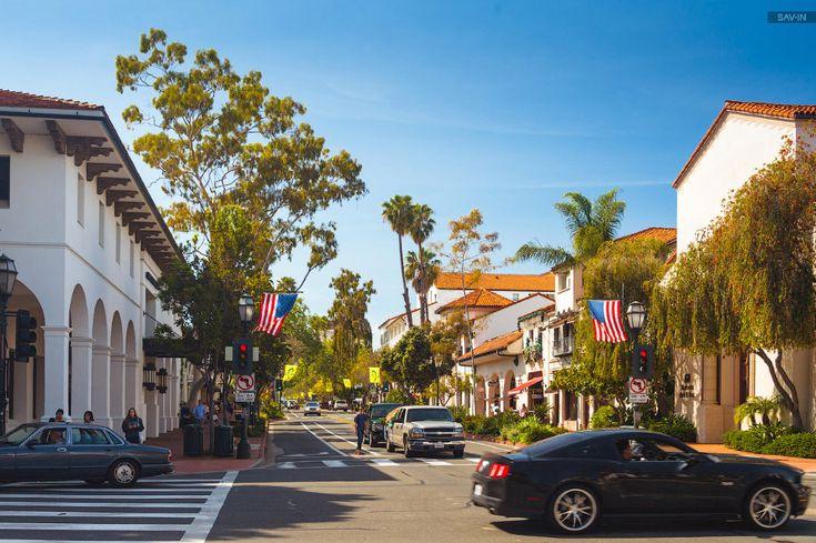 Санта-Барбара и цветущее побережье Калифорнии