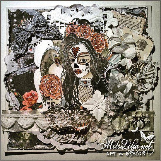 See all my cards at: {#miloliljaartCARDS} {#miloliljaART}   {#joydies} {#skullface} {#diademuertos}   {#scrapbookingsupplies} {#scrapbooking} {#canvas} {#burlap {#papers} {#vintageart} {#shabbychicart} {#steampunkart} {#mixedmediaart {#victorianart} {#romanticart} {#paperart} {#kortlaging} {#cardmaking} {#artjournaling} {#timholtz} {#graphic45} {#art} {#instaart} {#artist} {#masterpiece} {#scraptop}