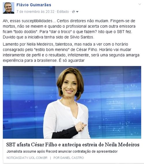 FG-News, onde os fatos se encontram : O DESAFIO DE NEILA MEDEIROS VAI ALÉM DE SUBSTITUIR...