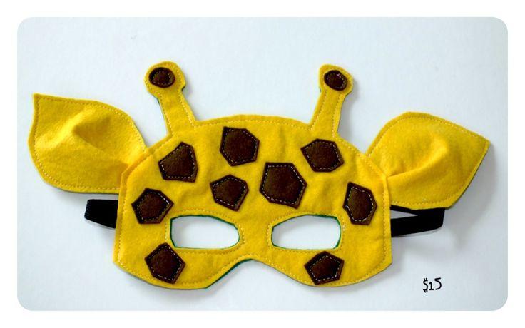 mascara de jirafa - Buscar con Google