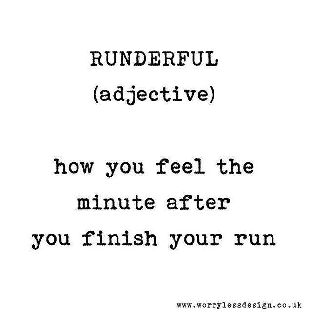 RUNDERFUL. It's definitely a thing Funny running quote www.worrylessdesign.co.uk