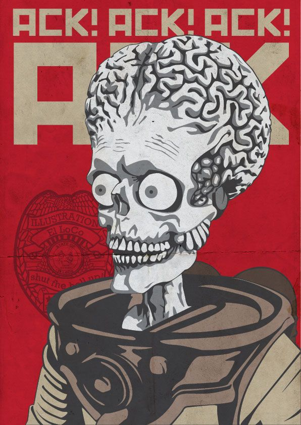 17 Best Images About Mars Attacks On Pinterest Aliens