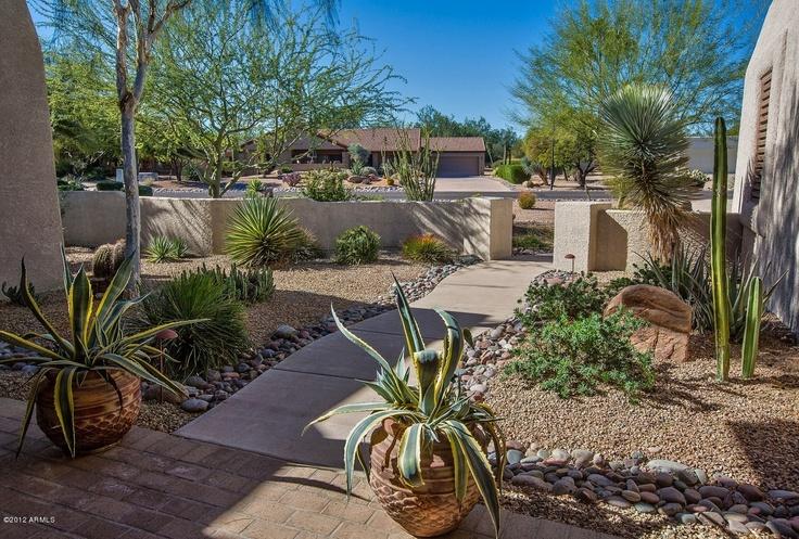 67 best images about Southwest Landscaping on Pinterest ... on Southwest Backyard Ideas id=65823
