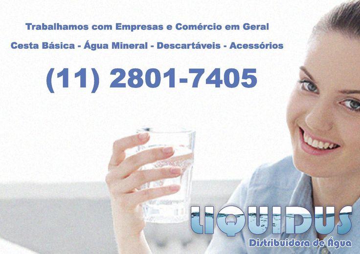 Loja online de Distribuidora de Água Mineral LIQUIDUS
