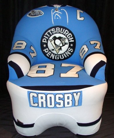 Virginia Miller we need this for hockey season   Custom Crosby Chair  Pittsburgh  Penguins. 17 Best images about StuPENdous Home Decor on Pinterest   Diy