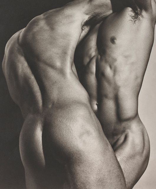 Herb Ritts | Wrestling Torsos, Hollywood (1987) | Available for Sale | Artsy