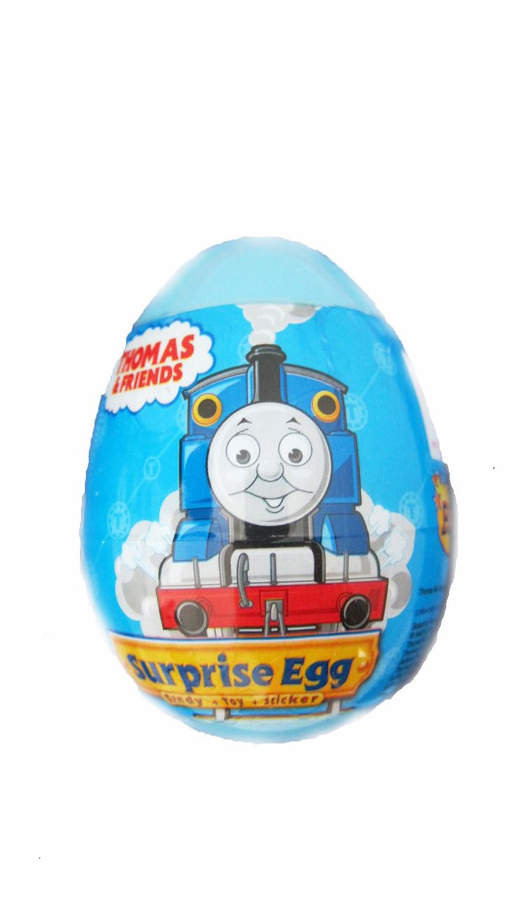 Up for sale is: THOMAS the TRAIN Surprise egg with toy WE ALSO SELL LARGE EGG, CHECK OUT OUR STORE CHECK out more surprise eggs at: theeurostore24.com --- Shipping from Las Vegas ---