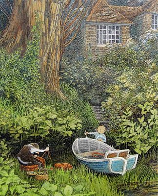 Wind in the Willows  //  messing about in boats...