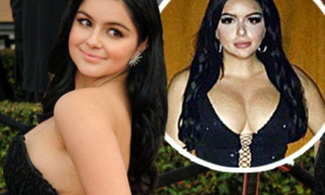 The Ariel Winter effect:Breast reduction surgery up 11% last year