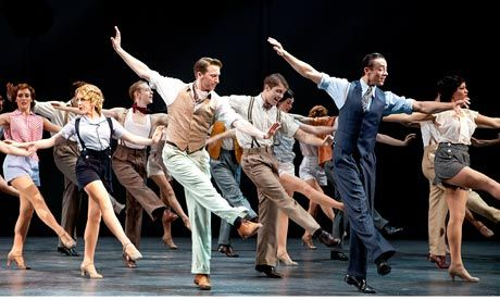 First-rate chorus … 42nd Street. Photograph: Pamela Raith