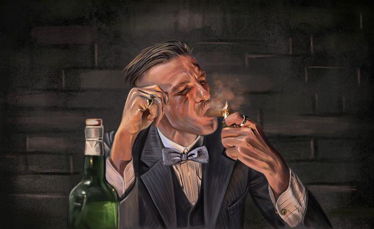 Arthur Shelby - Peaky Blinders - Sicarius8.deviantart.com