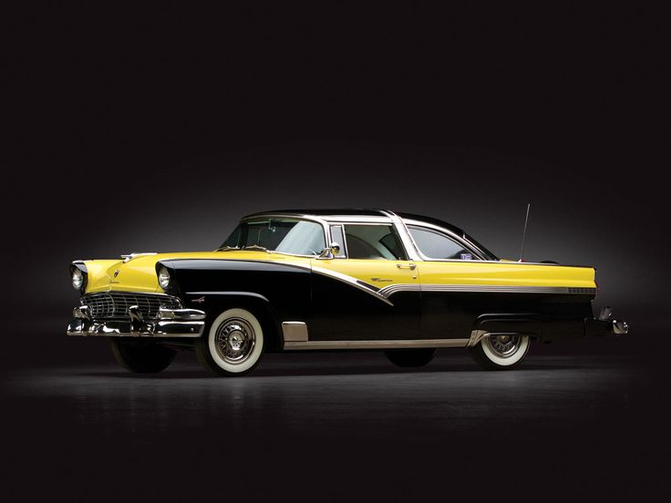 1956 Ford Fairlane Crown Victoria Bumble Bee| Sam Pack Collection 2014 | RM AUCTIONS