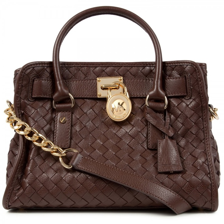 Hamilton woven leather tote,Michael Kors Harvey Nichols