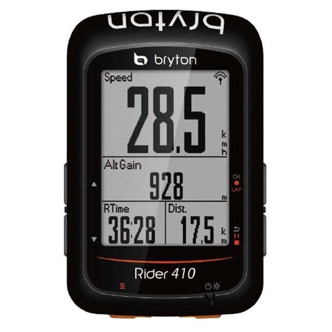 Bryton Rider 410e Gps Cycling Computer Gps Computer Black