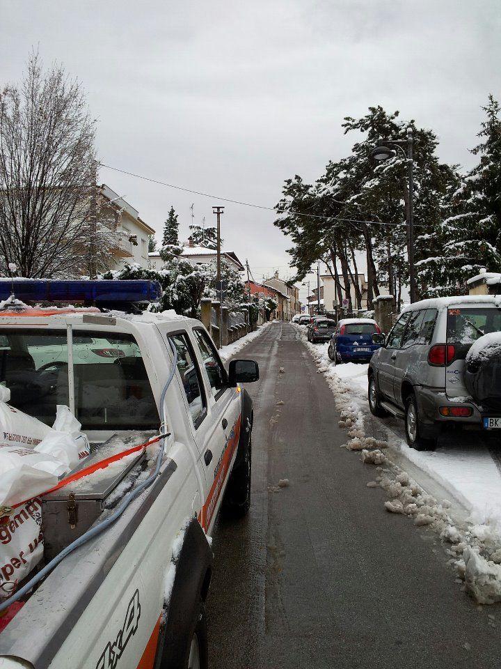 intervento volontari;monfalcone;emergenza neve;
