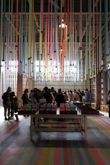 ribbon art installation - Google Search