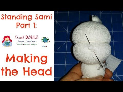 Making a cloth doll head Step by Step Instructions - YouTube